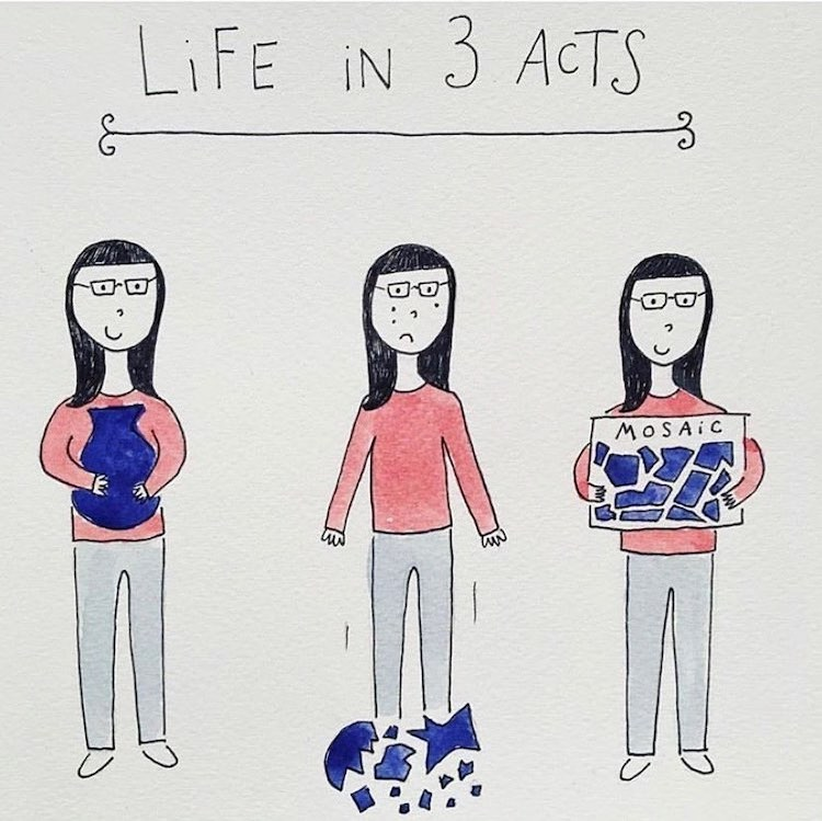 Relatable Illustration by Mari Andrew