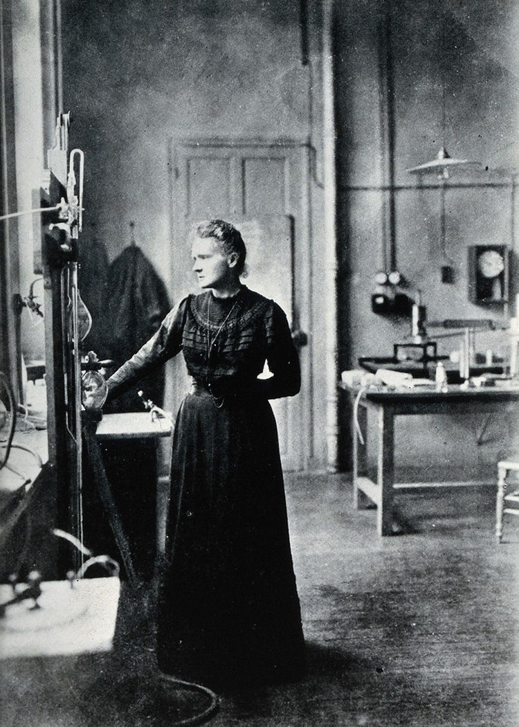 Marie Curie Lab Wellcome Collection