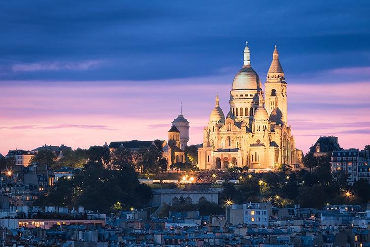 Montmartre Artist's Neighborhood of Paris Sacre Coeur
