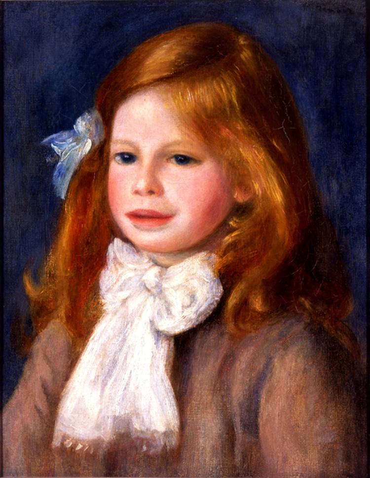 retrato de renoir en el museo soumaya