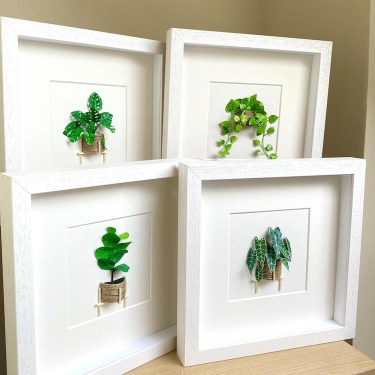 Paper Plants by Craftifact