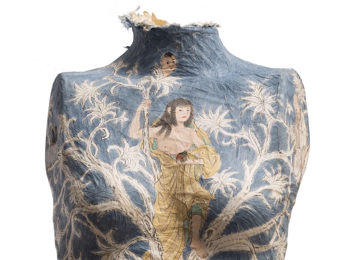 Feminine Narrative On Paper Sculptures