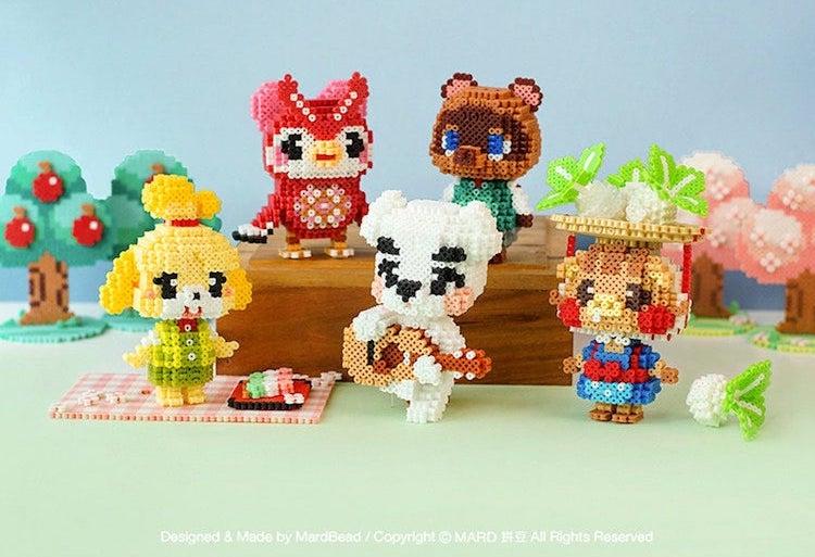 Animal Crossing 3D Perler Bead Pattern