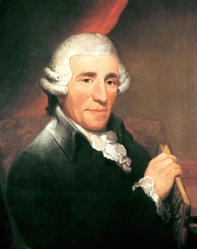 retrato de Joseph Haydn