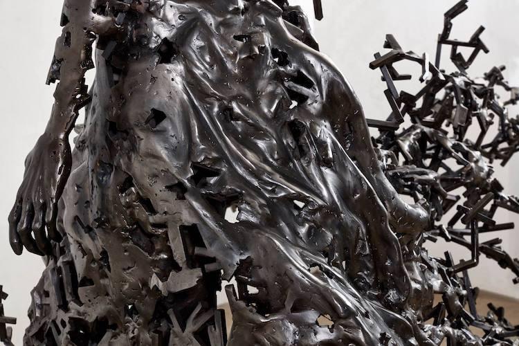 Fragmented Steel Sculptures by Regardt Van Der Meulen