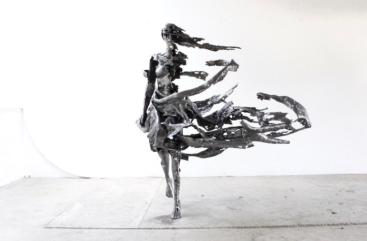 Fragmented Steel Sculptures by Regardt Van Der Meulen