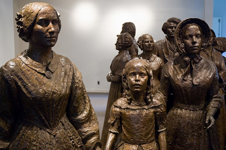 Women's Rights National Historic Park Seneca Falls Convention New York Statue