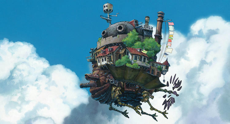 Studio Ghibli Is Building A Real-Life Howl's Moving Castle