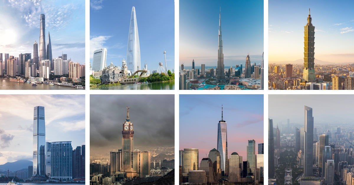 15 Skyscrapers That Are the Tallest Buildings in the World