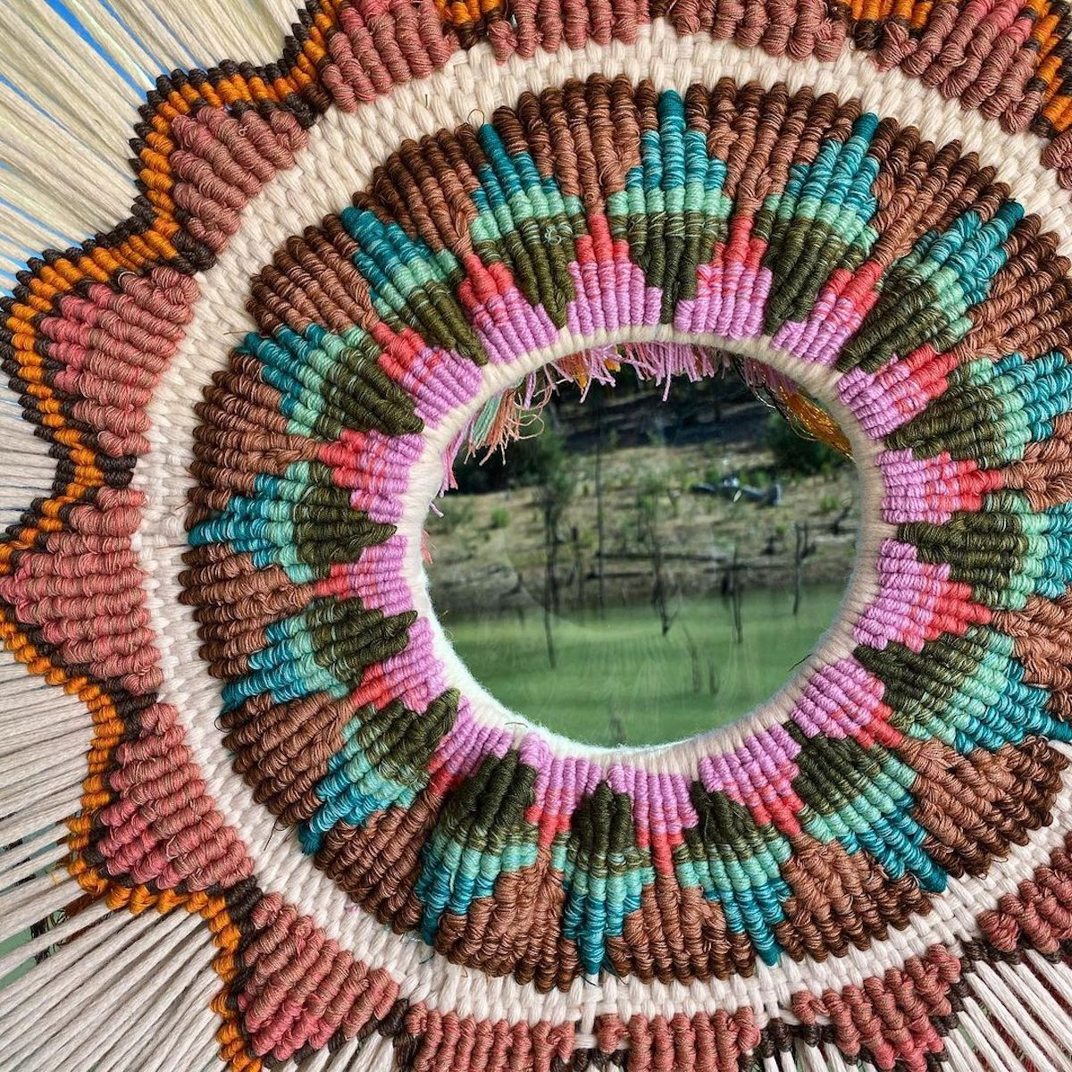 Textile Art Wall Hanging