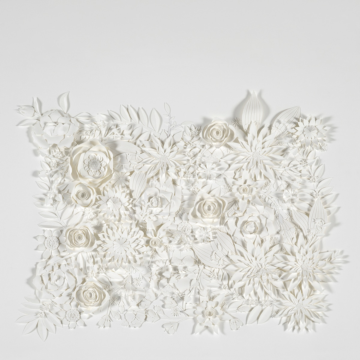 flores de papel por Tara Lee Bennett