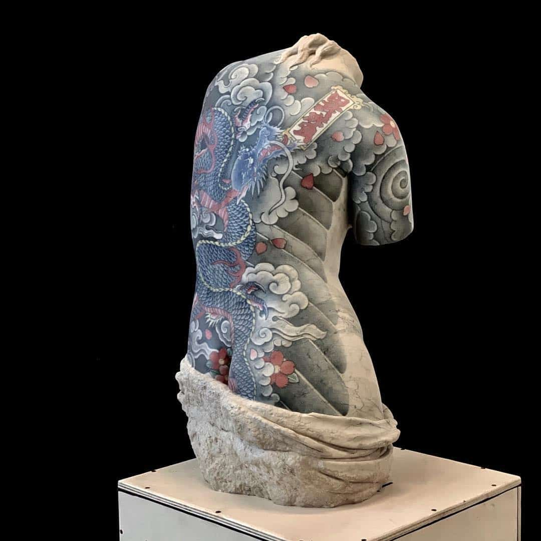 Tattooed Marble Sculptures by Fabio Viale