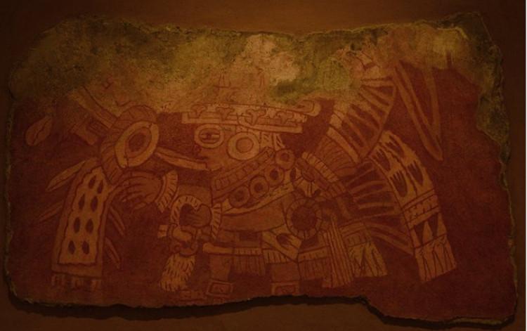 mural de teotihuacán