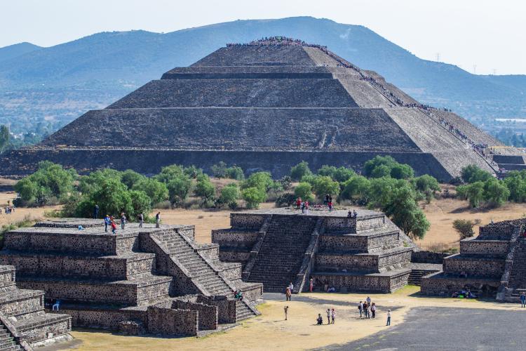 piramides de teotihuacán
