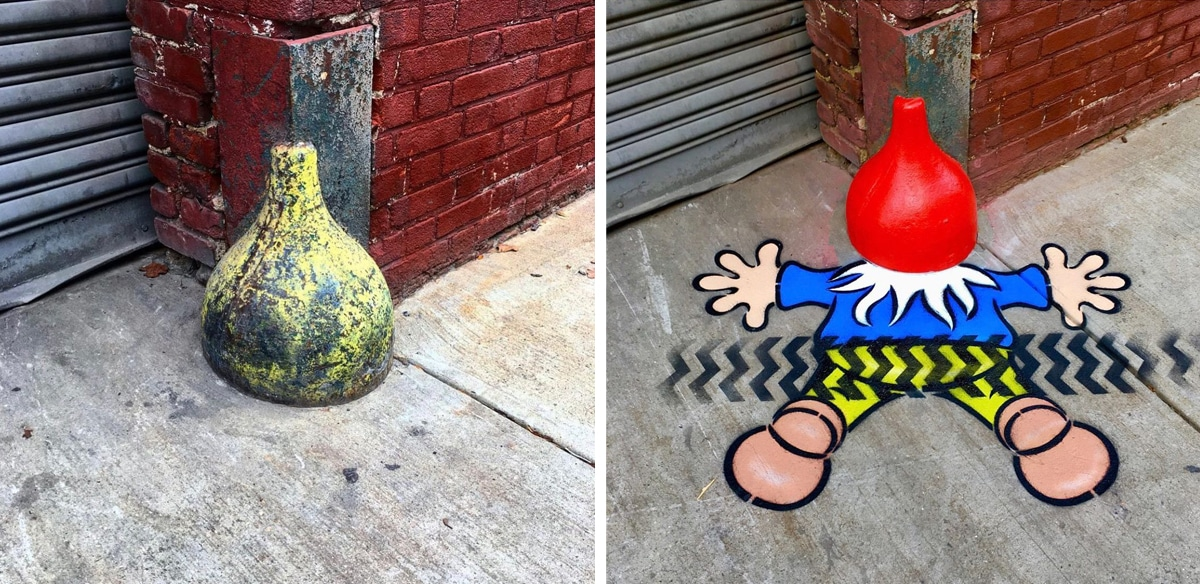 Cool Street Art by Tom Bob