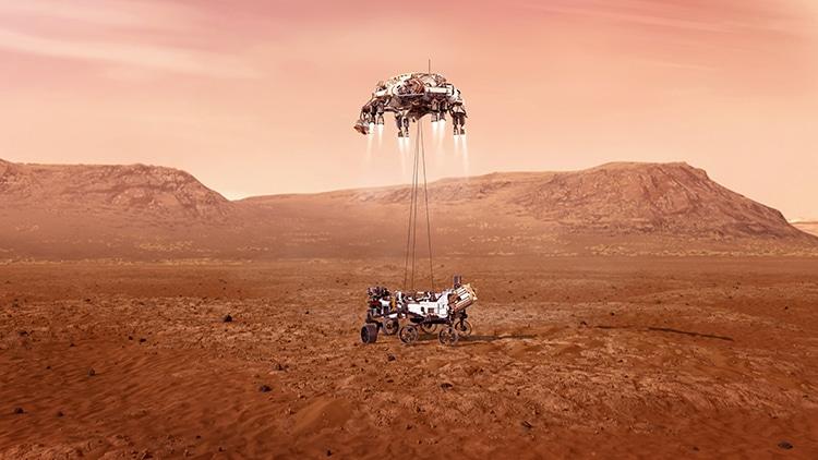 Touchdown NASA Perseverance Rover Mars