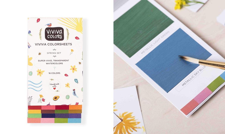 Viviva Colorsheets Set