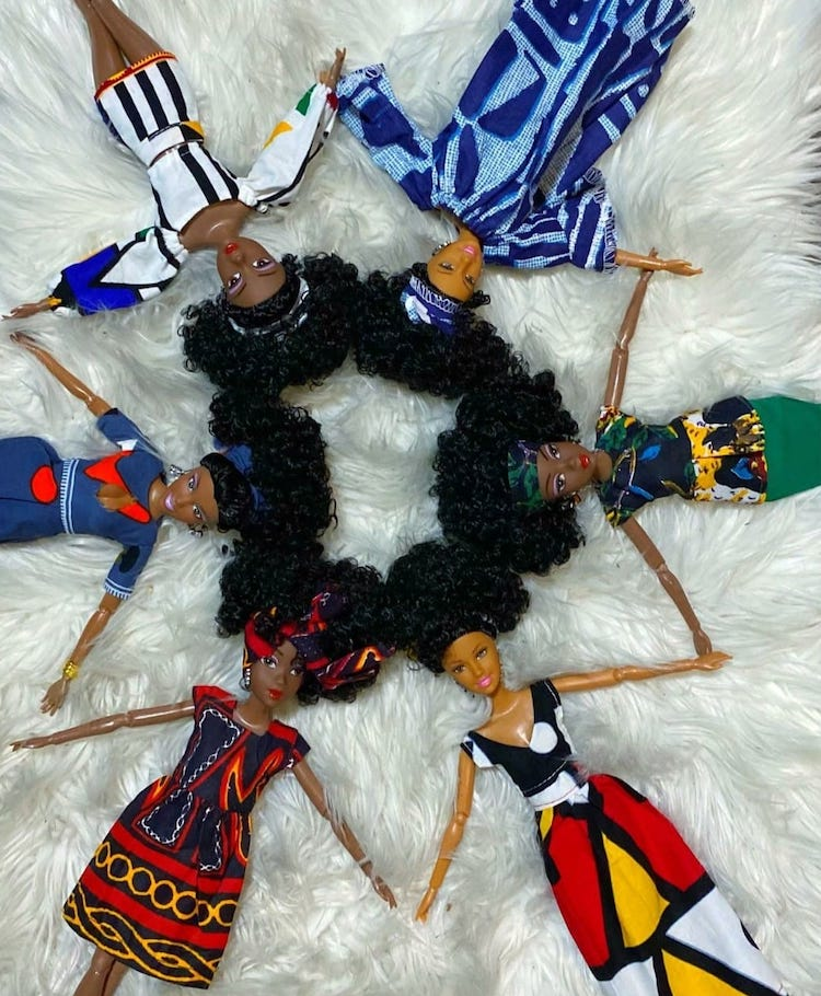 Ymma Diverse Black and Mixed-Race Dolls
