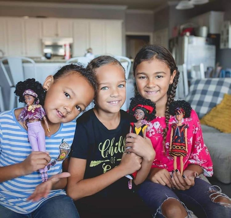 Black and Mixed Race Dolls by Ymma