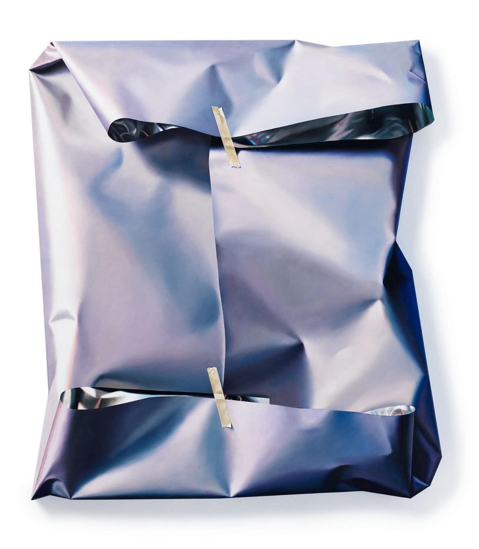 Hyperrealistic Paintings of Packages by Yrjö Edelmann