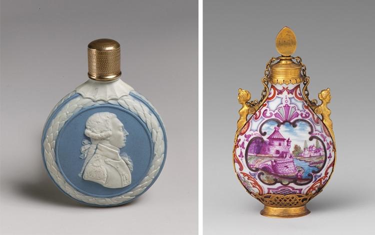 18th Century Rococo Perfume Bottles Europe
