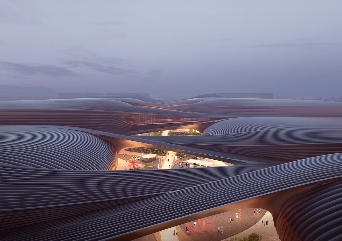 Building Rendering by Zaha Hadid Architects
