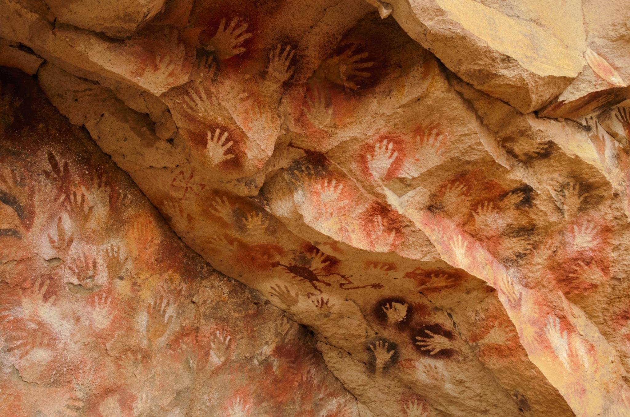 Cueva de las Manos en Argentina
