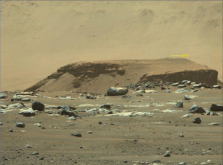 Delta Remnant Mars Rover Image