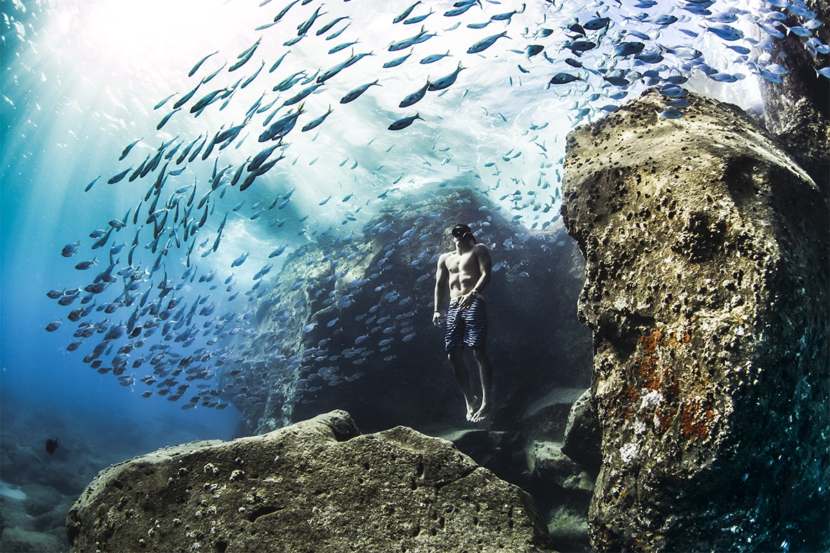 Andre Fajardo Freediving Christa Funk