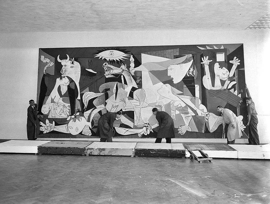 Guernica en el Museo Stedelijk