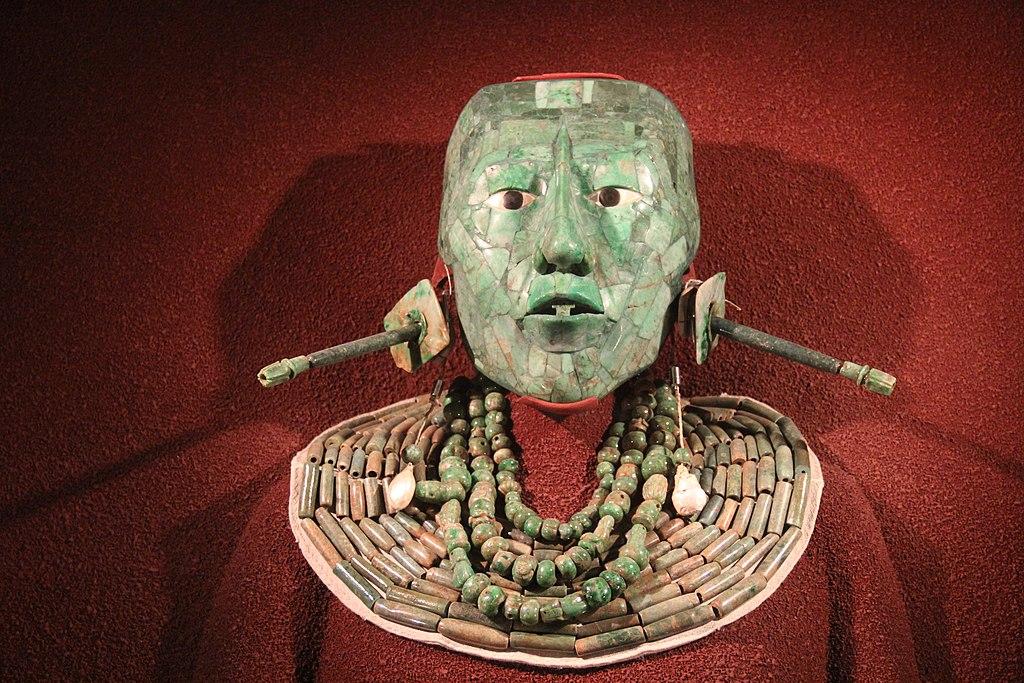 Máscara de jade de Pakal, rey de Palenque