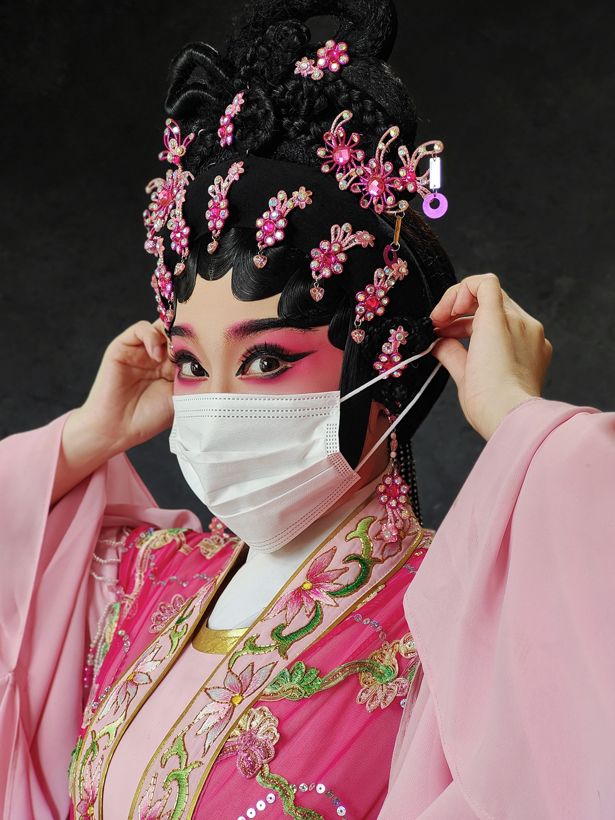 Cantonese Opera II by Queenie Cheen