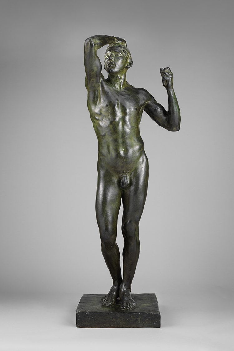 Age of Bronze Rodin Statue
