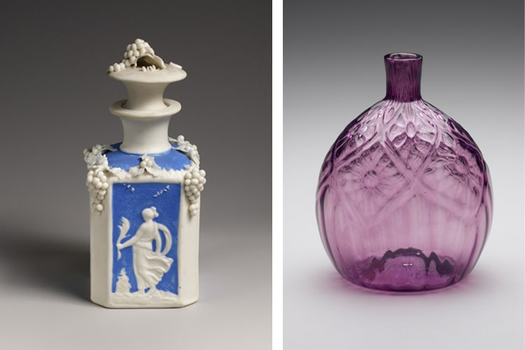 American 18th and 19th Century Perfume Bottles