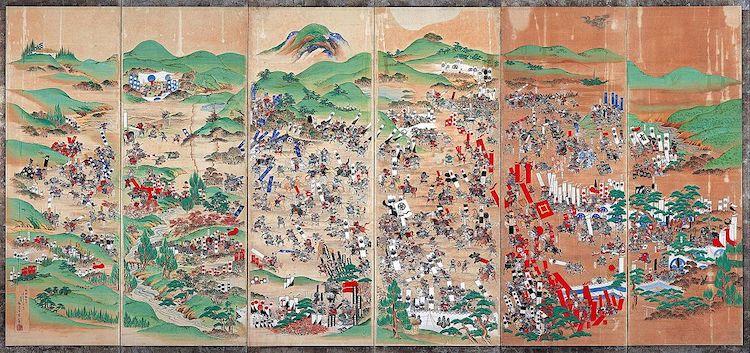 Animated Battle of Sekigahara by Yusuke Shigeta