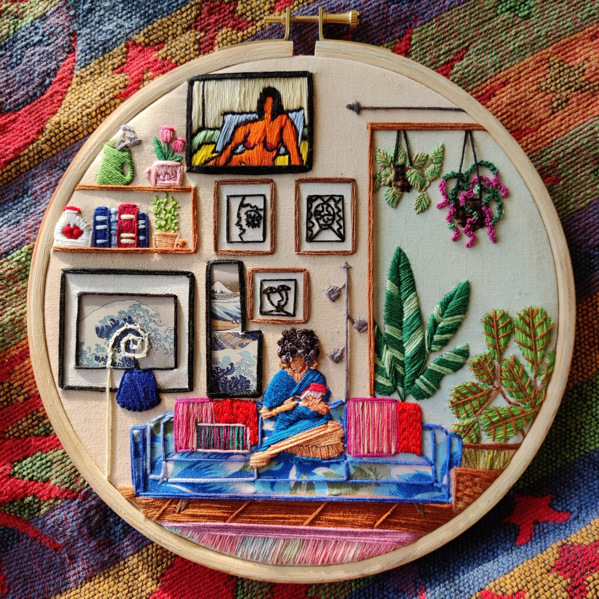 Embroidery Art of Daily Life by Anuradha Bhaumick