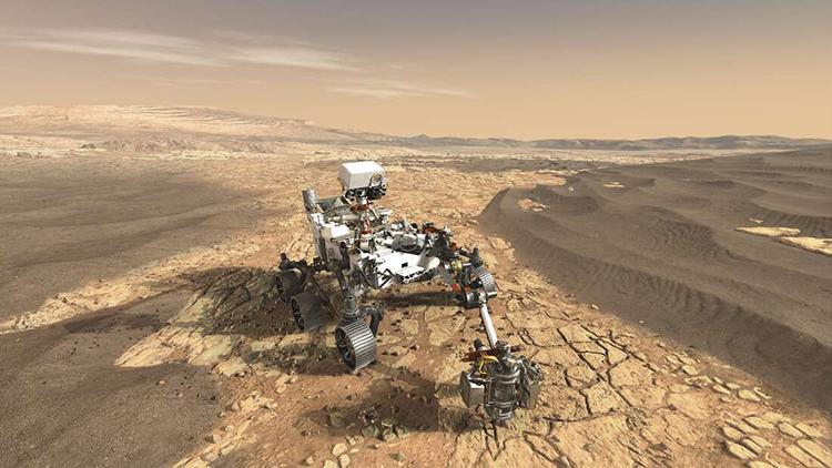 NASA Perseverance Mars Rover Image Video Sound