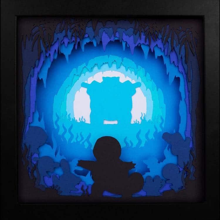caja de luz de Pokemon