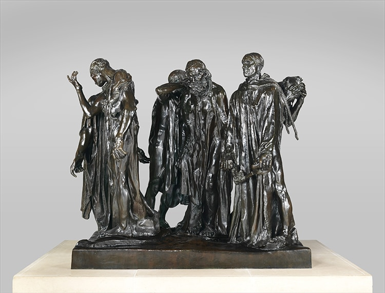 The Burghers of Calais Bronze
