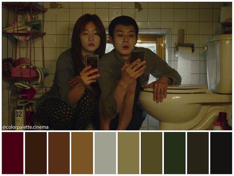 Color Palette Cinema