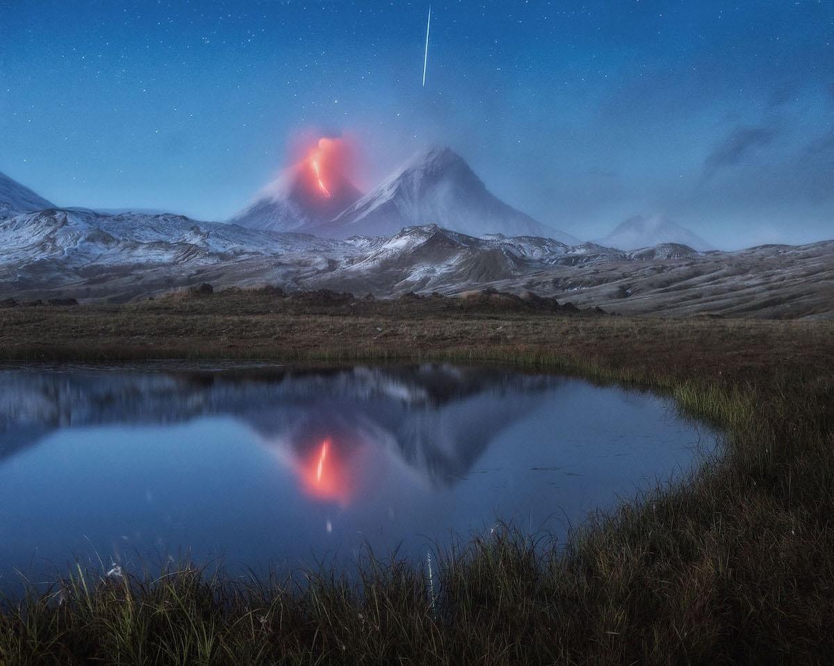 Volcano Photo by Daniel Kordan