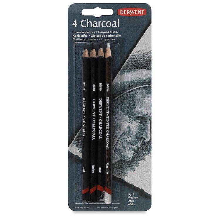 Set de lápices de carboncillo de Derwent