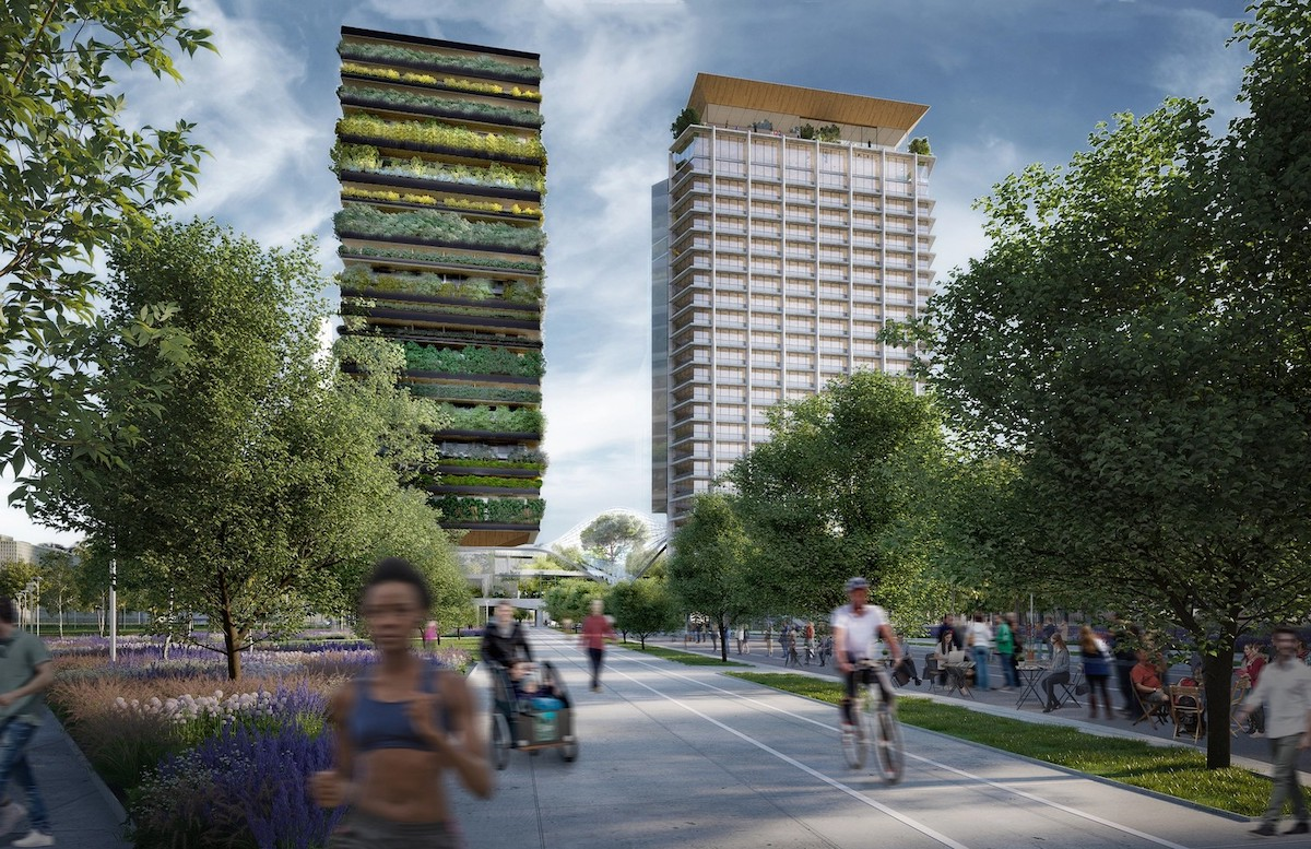 Diller Scofidio + Renfro and Stefano Boeri Architetti Win Competition for Botanical Tower in Milan