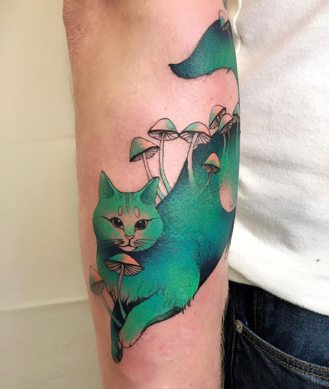 Nature-Inspired Tattoo Art by Dzo Lamka