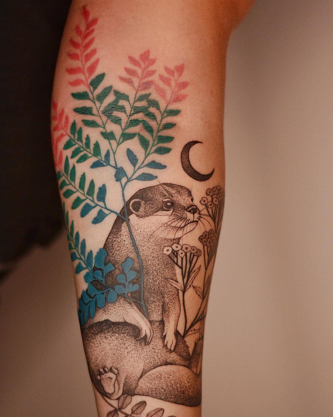 Nature-Inspired Tattoo Art by Dzo Lamka