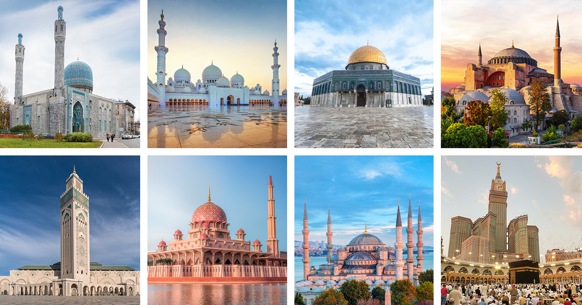 10 Incredible Mosques of the World That Celebrate the Grandeur of Islamic Architecture