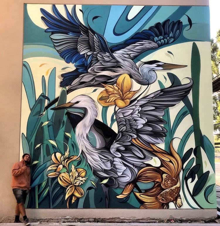murales en buenos aires por Fio Silva