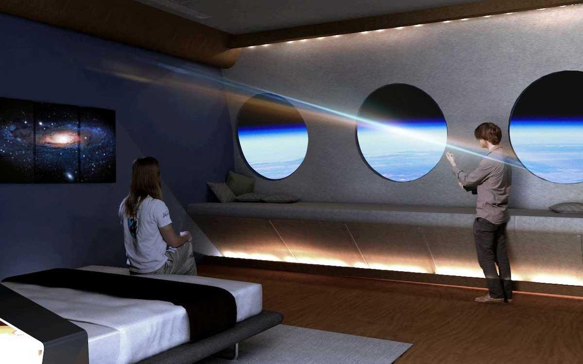 hotel en el espacio que abrirá en 2027