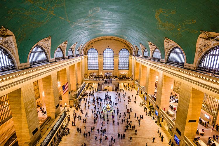 Grand Central Terminal historic New York City Train Station Main Concourse
