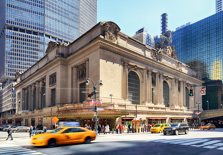 Grand Central terminal historic New York City Train Station